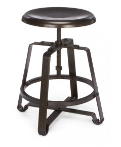 OFM : OFM921-DVN* เก้าอี้ Metal Stool-Chair with Dark Vein Seat and Legs