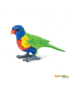Safari Ltd. : SFR150229 โมเดลสัตว์ Lorikeet
