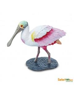 Safari Ltd. : SFR224829 โมเดลสัตว์ Spoonbill
