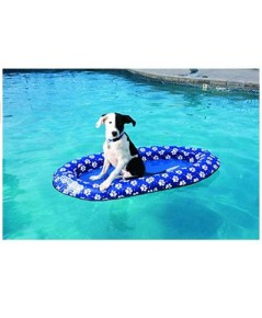 Swim Ways : SWY13705* เปลลอยน้ำ Paddle Paws Dog Pool Float (Small)