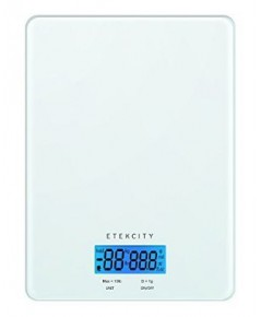 ETC HOHLKED06E* : Etekcity Kitchen Scale 13lb(6kg), 0.1oz(1g) , Multifunction Food Meat Scale