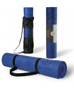 Jiva Yoga : JVYAMZ001* เสื่อโยคะ Non-Slip Yoga Mats With Free Carrying Strap and Bag