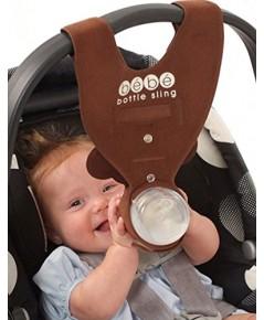 Bebe Bottle Sling : BSL5511681* อุปกรณ์ช่วยจับขวดนม Brown Monkey Baby Bottle Holder for Hands