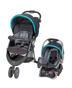 Baby Trend : BBTTS40949* รถเข็นเด็ก EZ Ride 5 Travel System, Hounds Tooth
