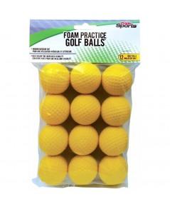 PrideSports : PDSAMZ001* ลูกกอล์ฟ Practice Golf Balls 12 Count