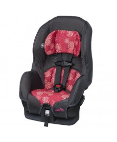 EVF 38111710* : Evenflo Tribute LX Convertible Car Seat - Pink Mums