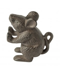 Comfify : CFFCM-201558* ที่กั้นประตู Cast Iron Mouse Rustic Door Stop