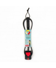 WAVE TRIBE: WTBAMZ001* สายรัดข้อเท้ากับกระดานโต้คลื่น Eco Surfboard Leash
