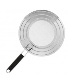 U.S. Kitchen Supply : USK SS-S112* ฝาครอบกระทะ  12quot; Stainless Steel Fine Mesh Splatter Screen