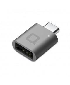 NONDA : NDAMI22SGRN* ตัวแปลงสาย USB USB-C to USB 3.0 Mini Adapter Aluminum Body