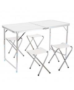 EvergreenFINETHER : FETAMZ001* โต๊ะสนาม Portable Folding Table Sturdy
