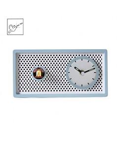 Kintrot : KITAMZ001* นาฬิกาตั้งโต๊ะ Cute Wooden Desk Clock