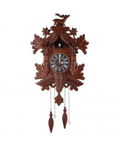 Kendal : KNDCC105* นาฬิกาแขวนผนัง Vivid Large Deer Handcrafted Wood Cuckoo Clock