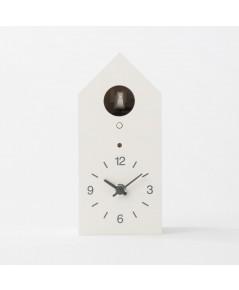 Muji : MUJAMZ002* นาฬิกาตั้งโต๊ะ Cuckoo Clock White Standard size