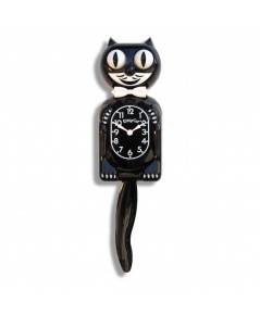 Kit Cat Klock : KCKKC1* นาฬิกาแขวนผนัง Black Kitty-Cat Klock