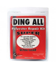 Ding All : DGA232* ชุดทำความสะอาดเซริฟบอร์ด Ding All Super Polyester Repair Kit, 4oz