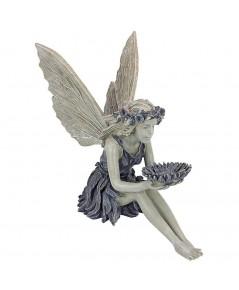 Design Toscano : DTCEU41620* อุปกรณ์ตกแต่ง The Sunflower Fairy Garden Statue
