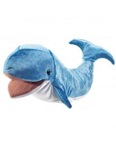 Folkmanis : FMN3040* ตุ๊กตามือ Whale Hand Puppet