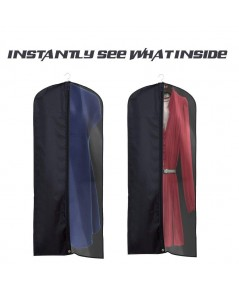 La Saveur : LSV14176064* ถุงคลุมเสื้อ 2 PACK 60 inch Garment bags