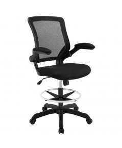 Modway : MDWEEI-1423-BLK* เก้าอี้ Veer Drafting Stool-Chair