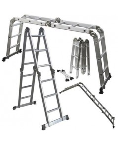 Oxgord : OXGLDAL-FD01-15* บันได Aluminum Folding Scaffold Work Ladder
