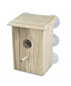 PetsN\'all : PNAHR4912* บ้านนก Wooden Bird Nest Box