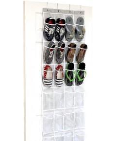 Simple Houseware : SMHBO-002-1* ถุงแขวนเก็บของ Door Hanging Shoe Organizer