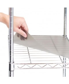 Seville Classics : SVCWEB047* แผ่นพลาสติกรองชั้น Fitted Shelf Liners
