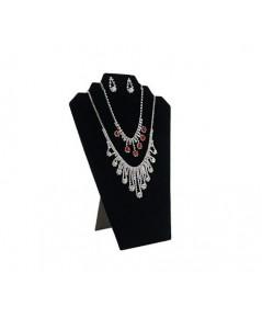 TWING : TWG096911* ดิสเพล์เก็บสร้อยคอ Black Velvet Necklace Jewelry Display