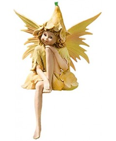 Wind  Weather : WNWSC8347* รูปปั้นตกแต่ง Nature Pixie Fairy Outdoor Garden Statue