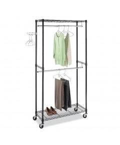 Whitmor : WTM6070-3366* ราวแขวนเสื้อผ้า Supreme Double Rod Garment Rack