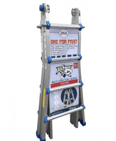 Toprung : TPRTSA-U25* บันได Aluminum Extension Multi-Purpose Ladder
