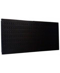 Wall Control : WCT30-HP-1632B* แผงเหล็ก 16 x 32 inch Horizontal Black Metal Pegboard
