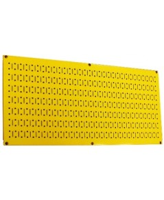 Wall Control : WCT 30-HP-1632Y* แผงเหล็ก 16 x 32 inch Horizontal Yellow Metal Pegboard
