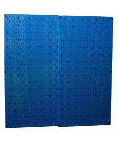 Wall Control : WCT 30-P-3232BU* แผงเหล็ก Blue Steel Metal Two 32 x 16 inch Pegboard Tool Boards