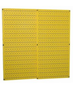 Wall Control : WCT 30-P-3232Y* แผงเหล็ก Yellow Metal Metal Two 32 x 16 inch Pegboard Tool Boards
