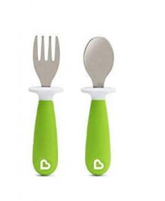 Munchkin : MNK27148 ช้อนส้อม Raise Toddler Fork  Spoon