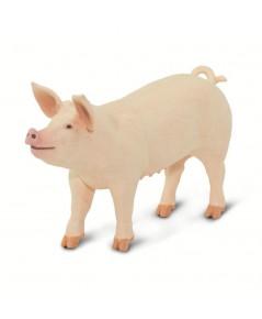 Safari Ltd. : SFR100269 โมเดล Large White Pig