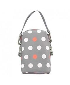 Dr.Brown\'s : DRBAC016 กระเป๋าเก็บอุณหภูมิ Convertible Bottle Tote, Polka Dot