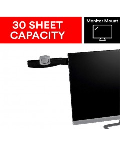 3M : 3MDH240MB* คลิปยึดเอกสาร Monitor Mount Document Clip