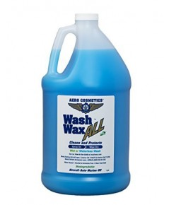 Aero Cosmetics : ARC777G* น้ำยาล้างรถสูตรเคลือบ Cosmetics Car Wash Wax 128oz.