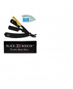 Black Widow : BWDAMZ001* ชุดมีดโกน Barber Straight Razor