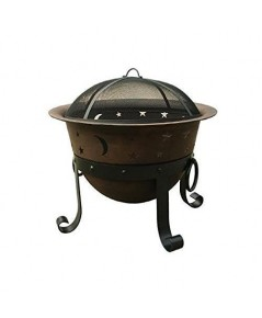 Catalina Creations : CTLAD364* เตาผิง Heavy Duty Cast Iron Fire Pit