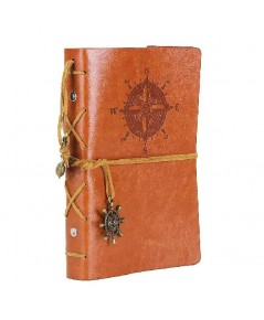 EvZ : EVZAMZ001* สมุดบันทึก Leather Writing Journal Notebook