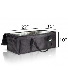 KIBAGA : KBGAMZ001* กระเป๋าเก็บอุณหภูมิ Premium Insulated Food Delivery Bags Set of 2