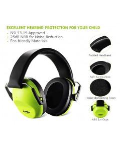 Mpow : MPWMPHM068AB* หูฟังป้องกันเสียงรบกวน Kids Ear Protection Safety Ear Muffs