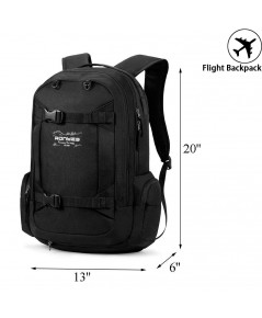 Ronyes : RNYAMZ001* กระเป๋าสะพายหลัง Multi-Function Water Resistant Backpack