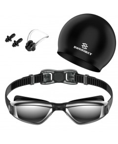 Swimmaxt : SWMAMZ001* ชุดแว่นตาว่ายน้ำ Swimming Goggles
