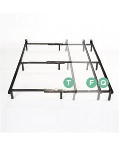 Zinus : ZNUAZ-SBF-U2* เตียงเหล็ก Compack Adjustable Steel Bed Frame