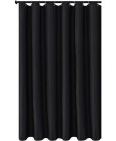 Biscaynebay : BCBSCL-BLK* ม่านกั้นอาบน้ำ Fabric Shower Curtain Liner Black